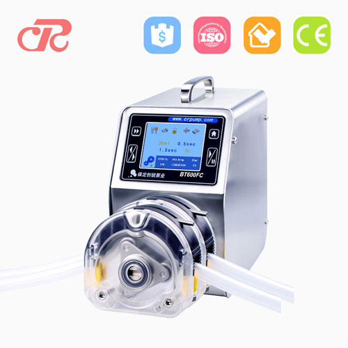 higher cost performance dispensing peristaltic pump