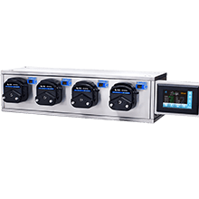 multichannel peristaltic pump filling system
