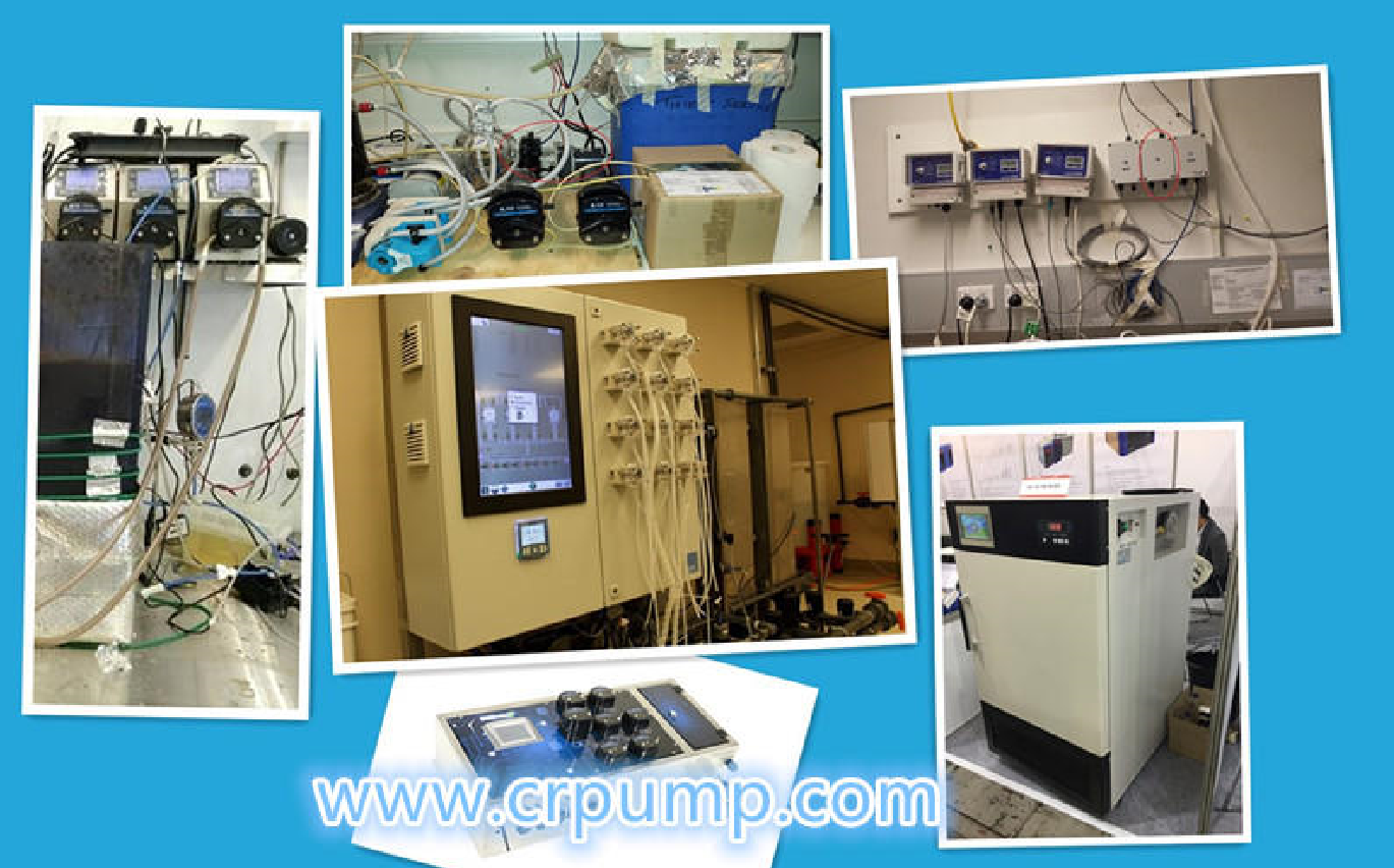 Peristaltic pump can be used in production field instead of many special pumps