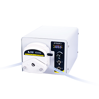 Liquid transfer peristaltic pumps with Foot switch controller