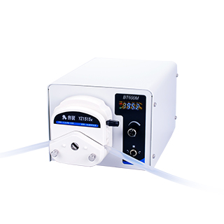 Digital peristaltic tubing pump