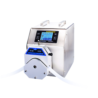 Intelligent industiral peritaltic pump
