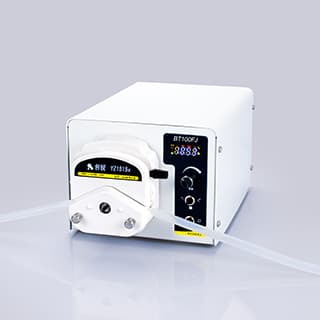 Digital basic type filling peristaltic pumps