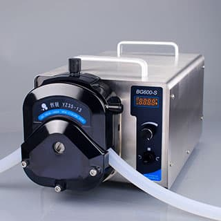 12 Liters/min Digital industrial peristaltic pump