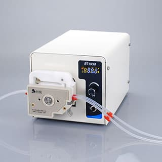 Digital lab scale peristaltic pump