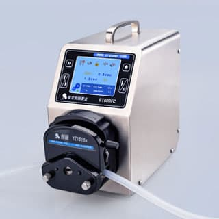 Intelligent dispensing peristaltic dosing pumps