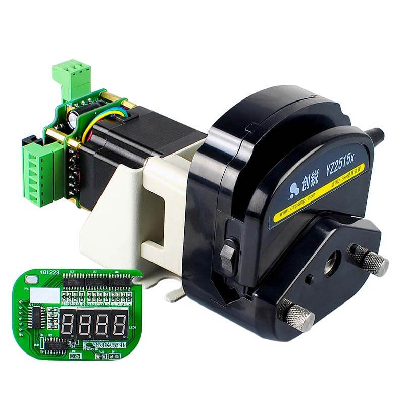 What are the main factors affecting peristaltic pump pressure?