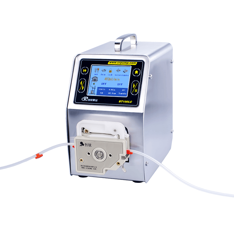 Digital display flow type peristaltic pump introduction