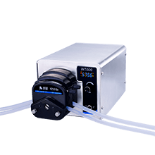 What are the types of peristaltic pumps?