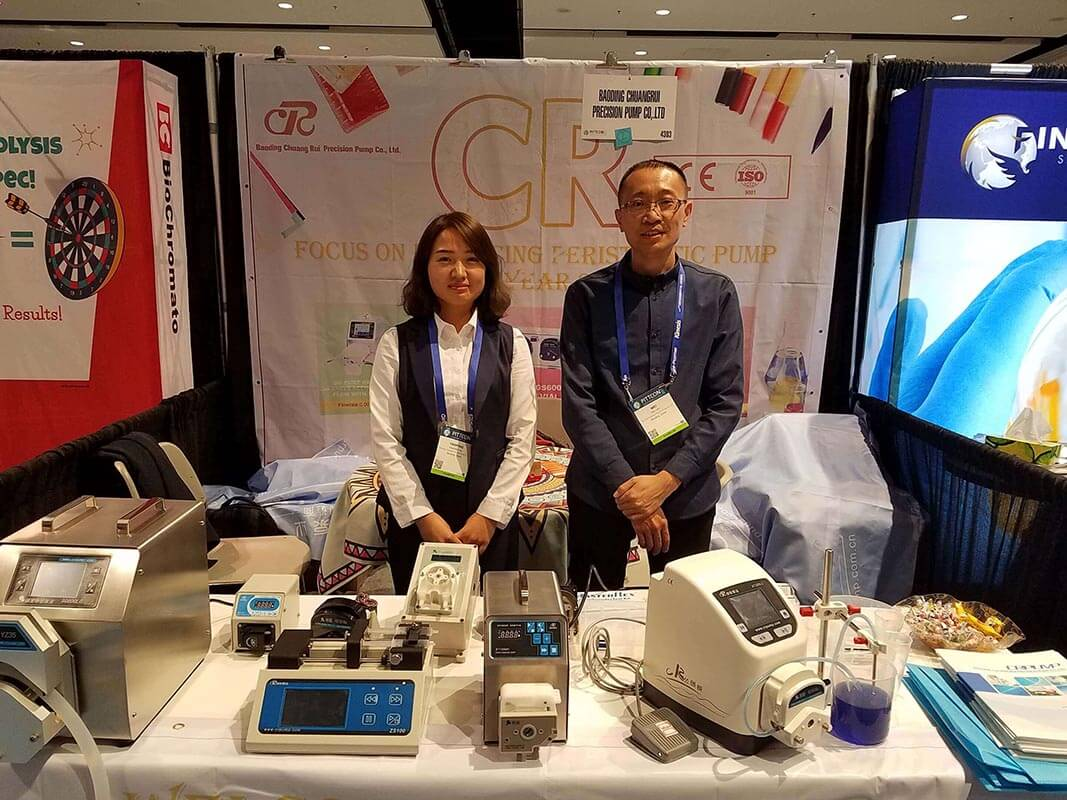 Participated in the 2017 US Pittcon chemical analysis equipment exhibition