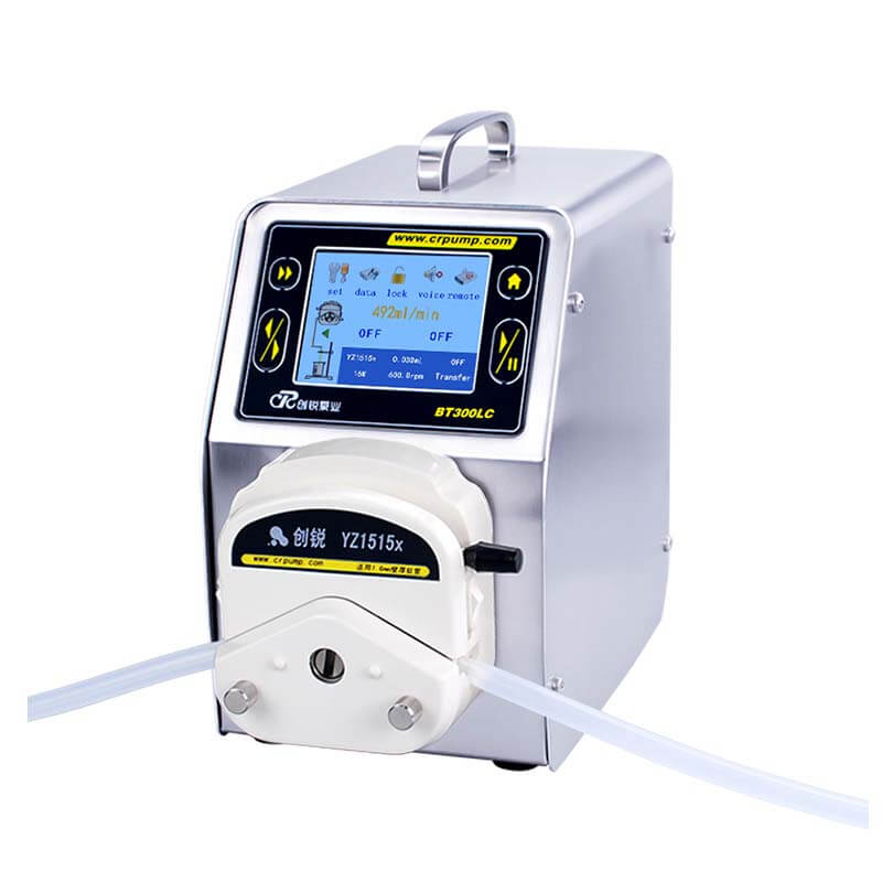 Intelligent peristaltic pump