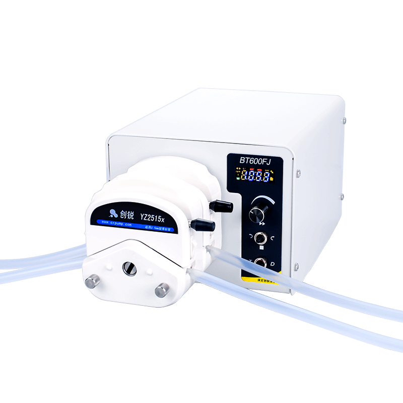 accuracy and versatility of a peristaltic pump
