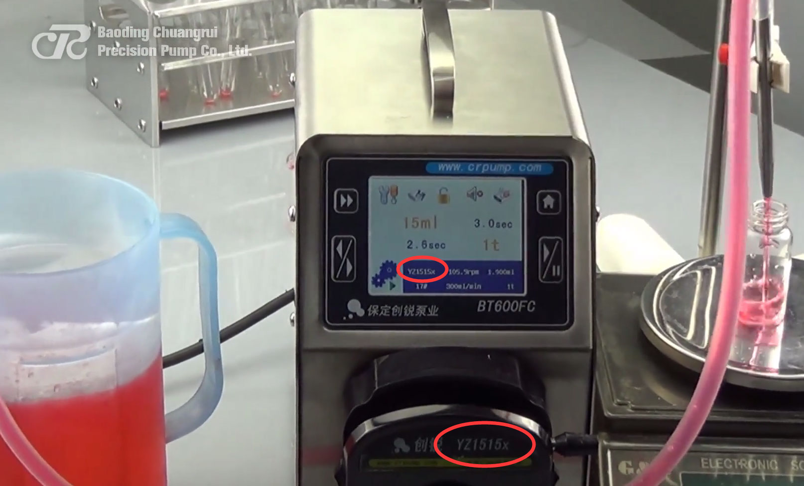 How to properly maintain the peristaltic pump