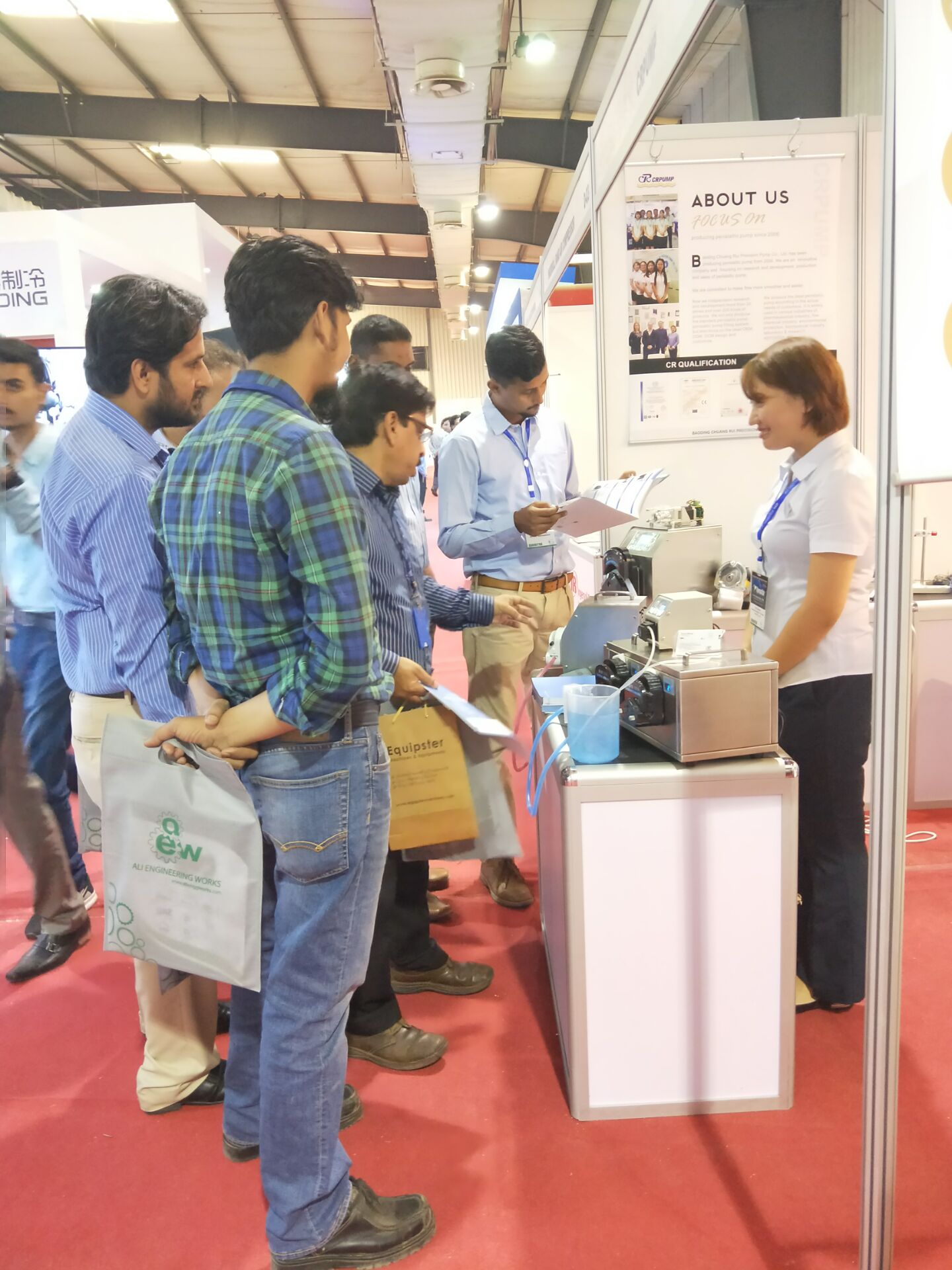 CR&The 15th Pakistan international medical exhibition