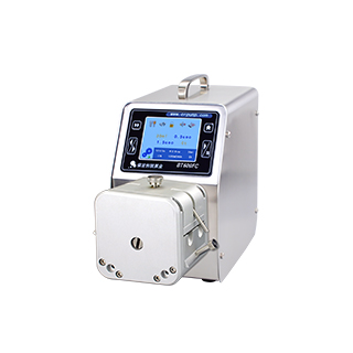 High precision low pulse dispensing peristaltic pump